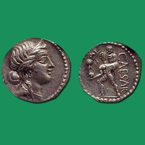 Sliver-Denarius-of-Julius-Caesar-