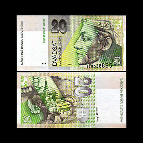 Slovakia-20-Korun-banknote-of-1993