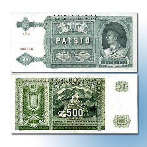 Slovakia-500-Korun-banknote-of-1941