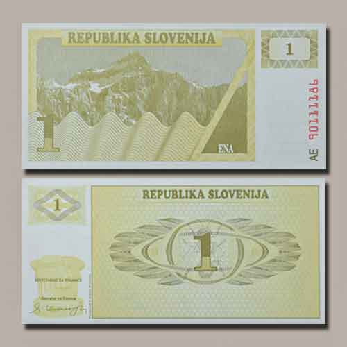 Slovenia-banknote