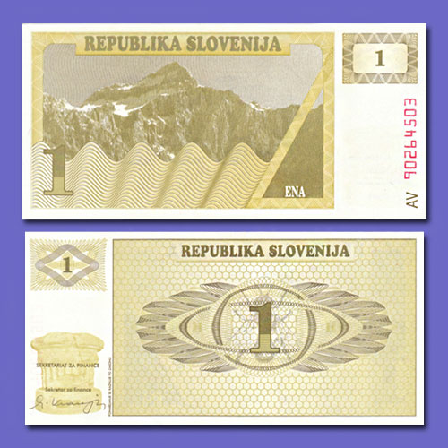 Slovenian-1-Tolar-banknote-of-1990