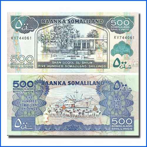 Somaliland-Banknote