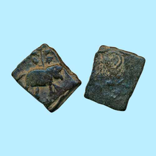 Square-Copper-Unit-of-Satavahan-Empire