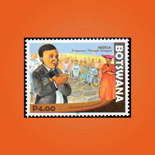 Stamp:-Democracy-through-Dialogue