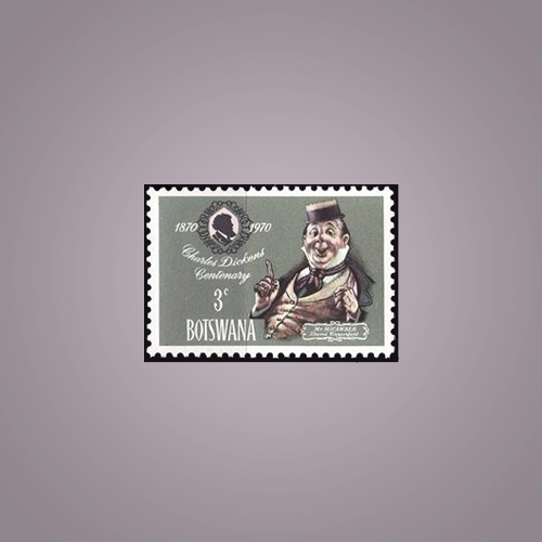 Stamp-of-Charles-Dickens