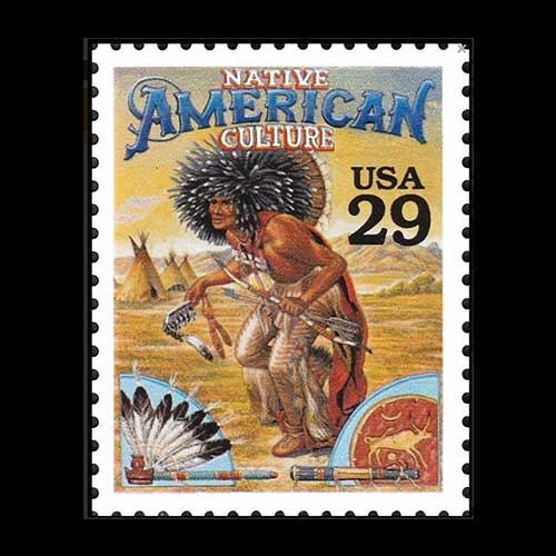 Stamp-on-Native-American
