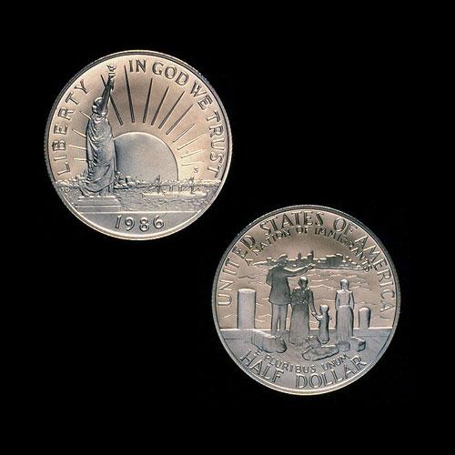 Statue-of-Liberty-Half-Dollar