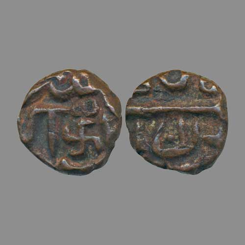 Swastika-on-Akbar's-Coin