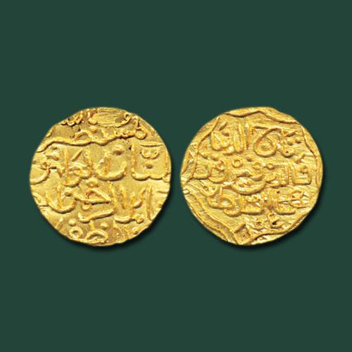 Taj-ud-Din-Firuz-Shah-Gold-Tanka-Listed-For-INR-1,50,000