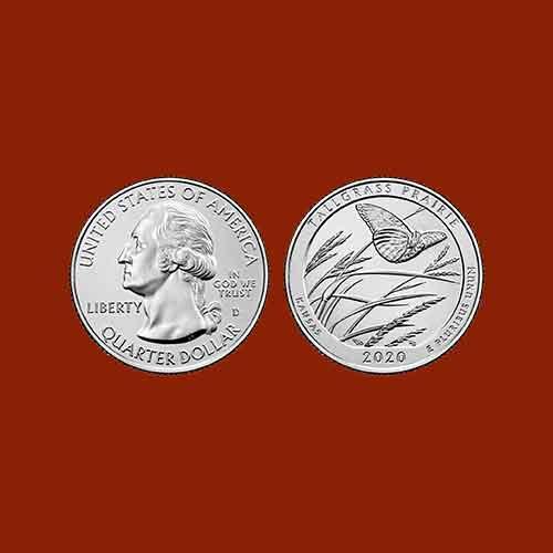 Tallgrass-Prairie-National-Preserve-Quarter-Dollar