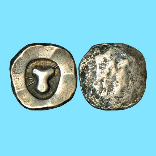 Taurine-on-Kuntala-Janapada-Coins