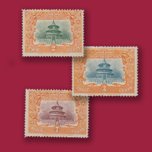 Temple-of-Heaven-Stamps-China