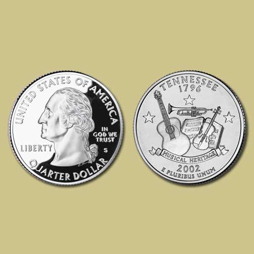 Tennessee-State-Quarter-Dollar-