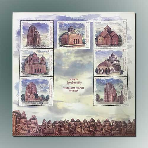 Terracotta-Temples-Featured-on-Indian-Stamp