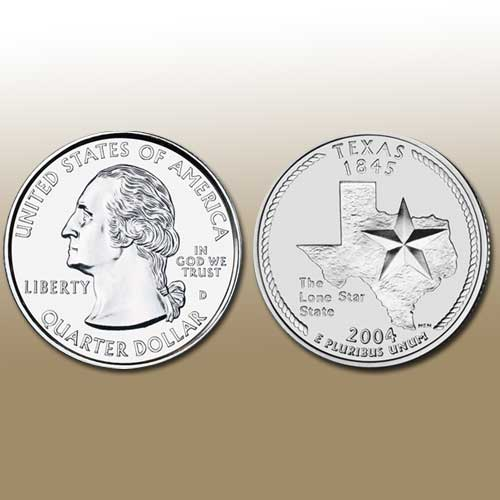 Texas-State-Quarter-Dollar