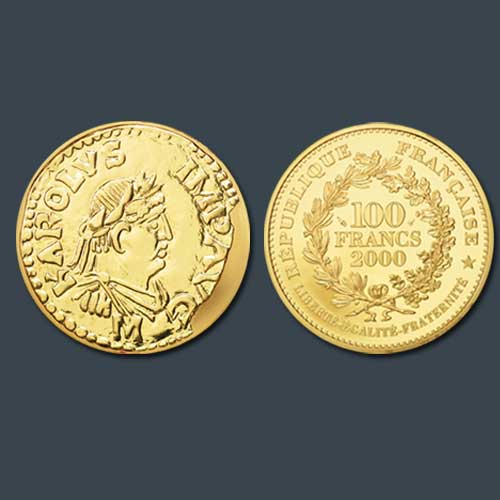 The-Father-of-Europe-on-a-French-Coin