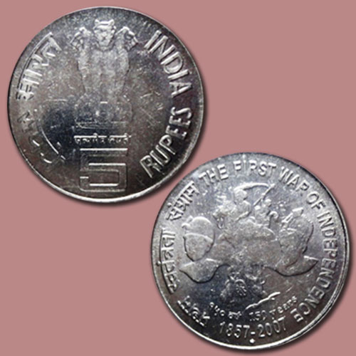 The-First-War-of-Independence-1857-Commemorated-on-Coin