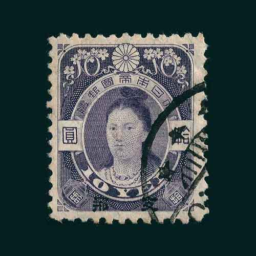 The-First-Woman-to-Appear-on-Japanese-Stamps
