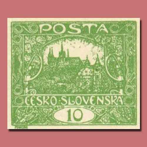 The-Hradcanys-–-First-Czechoslovak-Stamps