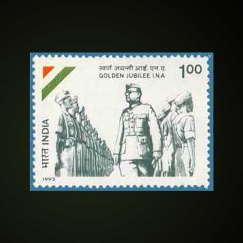 The-Indian-National-Army-Commemorative-Stamp