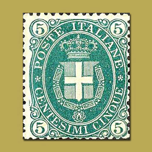 The-Italian-Royal-Standard-Stamp