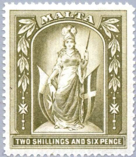 "The-""Melita""-Stamp-of-Malta"