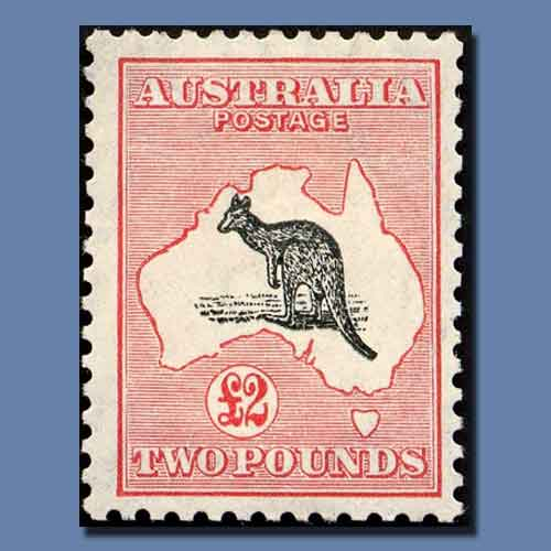 """The-""""Roo""""-Stamps-of-Australia"""