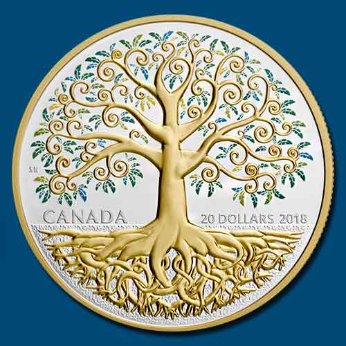The-tree-of-life-on-coin!