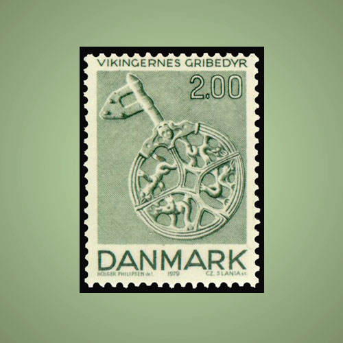 The-Viking-Art-on-Danish-Stamps