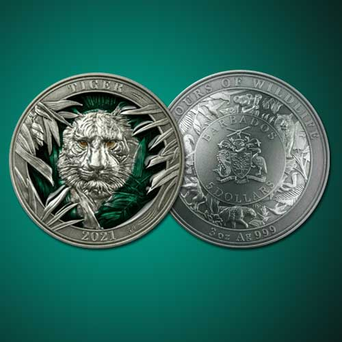 Tiger-on-new-Coin-of-Barbados