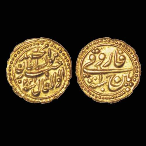 Tipu-Sultan-gold-Faruqi-sold-for-27,600