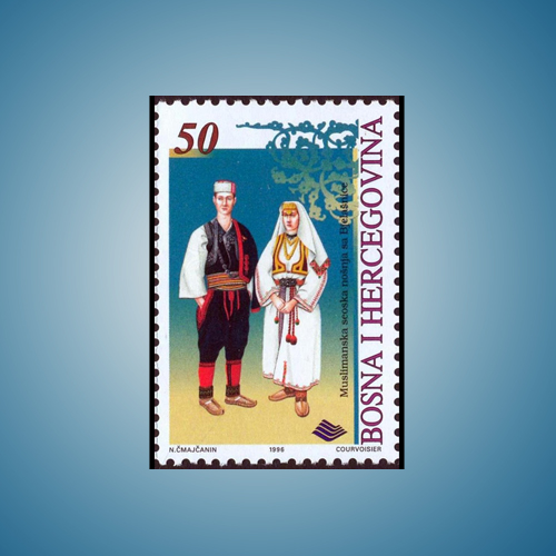 Traditional-Costumes-of-Bosnia-and-Herzegovina-through-Stamps