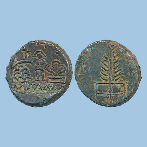 Tree-in-railing-on-Ancient-Indian-Coins