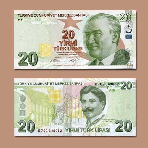 Turkey-20-Lira-banknote-of-2009