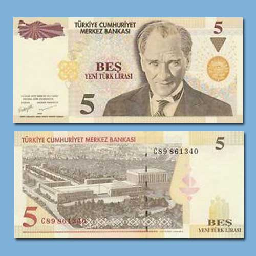 Turkey-5-Lira-banknote-of-2005