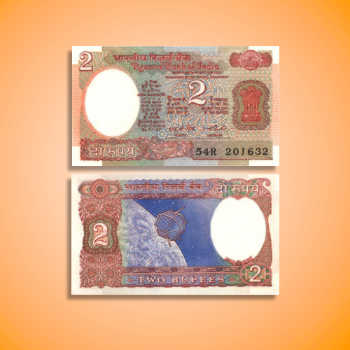 Two-Rupees-Banknote-of-I.-G.-Patel,-1978