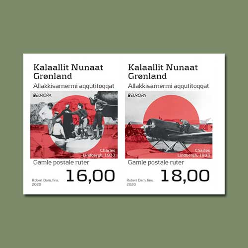 Two-Special-Europa-stamp-introduced-by-Greenland