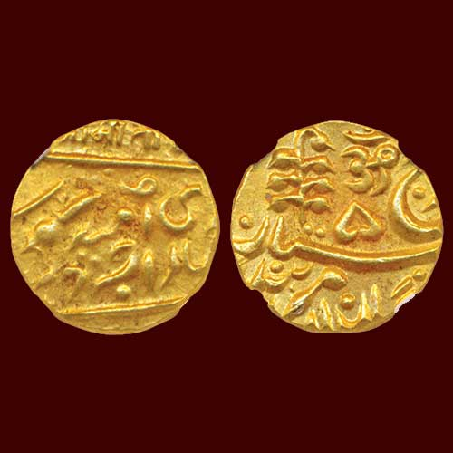Umaid-Singh-Gold-Mohur-Sold-For-INR-55,000