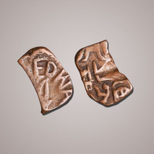 Unique-Shaped-Coin-from-Bundi-Princely-State