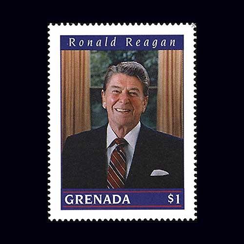 United-States-President-Ronald-Reagan-Commemorative-Stamp