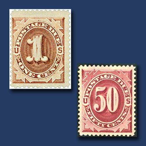 USA's-First-Postage-Due-Stamps