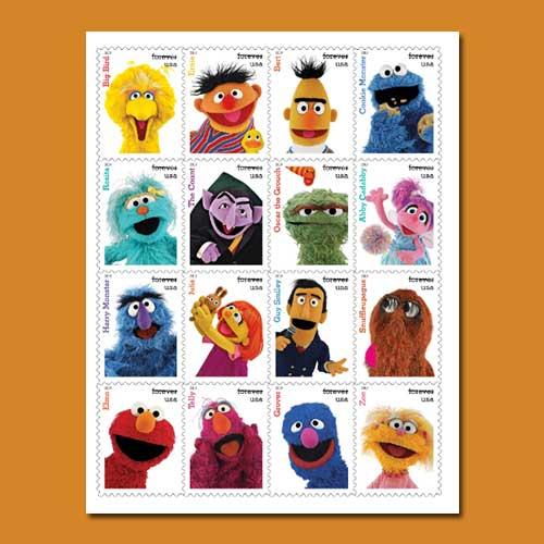 USPS-celebrates-'Sesame-Stamp'