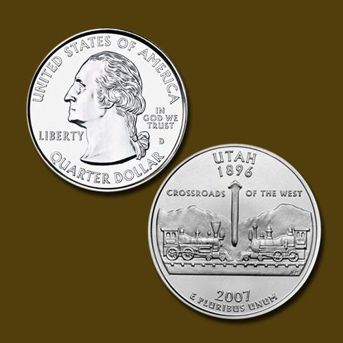 Utah-State-Quarter-Dollar