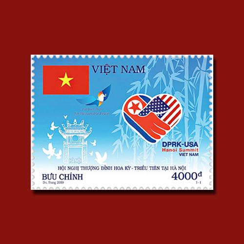 Vietnam's-Trump-Kim-Summit-Stamp