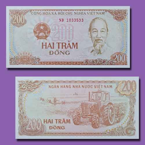 Vietnamese-200-Dong-Banknote-from-1978