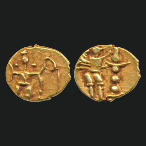 Vijayanagar's-Feaudatory-coin-sold-for-INR-5000