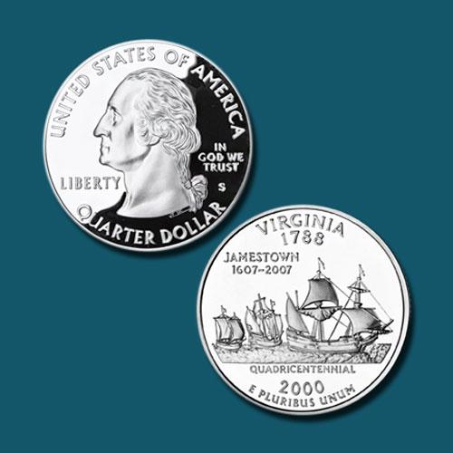 Virginia-State-Quarter-Dollar