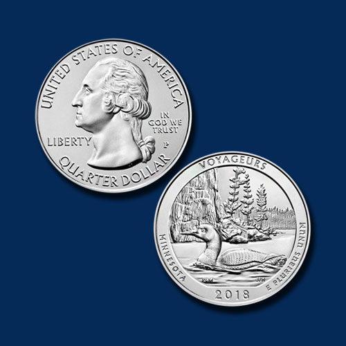 Voyageurs-National-Park-Quarter-Dollar
