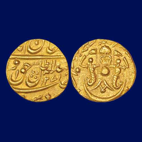 Wajid-Ali-Shah-Gold-Half-Ashrafi-Listed-For-INR-1,00,000