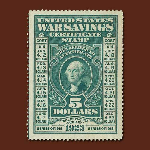 War-saving-stamp-of-United-States